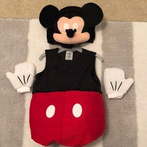 Disney Store Mickey Mouse costume